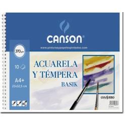 BLOC ACUARELA Y TÉMPERA BASIK CANSON