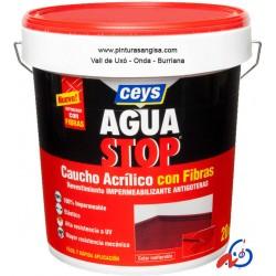 IMPERMEABILIZANTE AGUASTOP CAUCHO FIBRAS 1kg