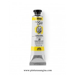OLEO TITAN GOYA 20ml AMARILLO MEDIO