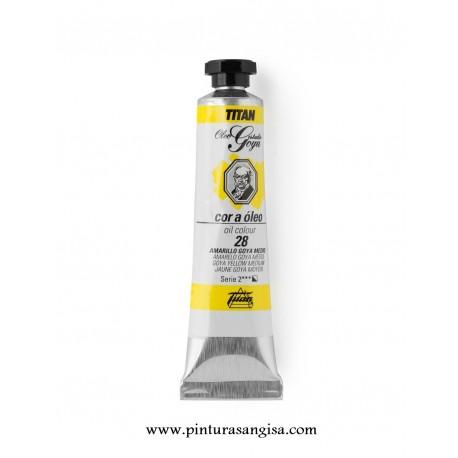 Oleo titan goya amarillo medio pinturas y papeles pintados pinturas angisa - Titan antihumedad ...