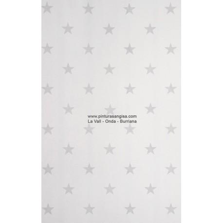 Papel pintado estrellas gris blanco pinturas y papeles pintados pinturas angisa - Papel pintado rojo y blanco ...