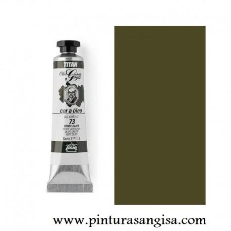 Oleo titan goya verde oliva pinturas y papeles pintados pinturas angisa - Titan antihumedad ...