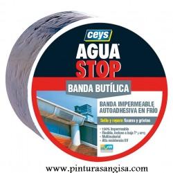 AGUA STOP BANDA BUTÍLICA GRIS