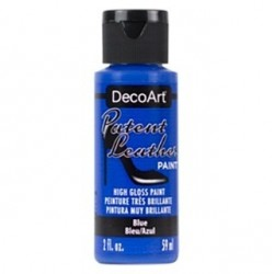 PINTURA CUERO  PATENT LEATHER 59 ML AZUL