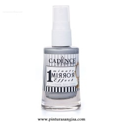 SPRAY PINTURA EFECTO ESPEJO 1 MINUTE MIRROR EFFECT CADENCE 30 ml.
